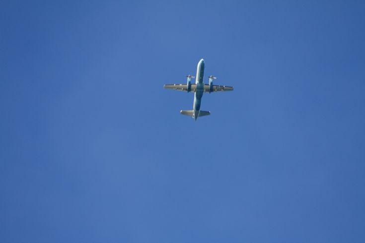 Flybe overhead