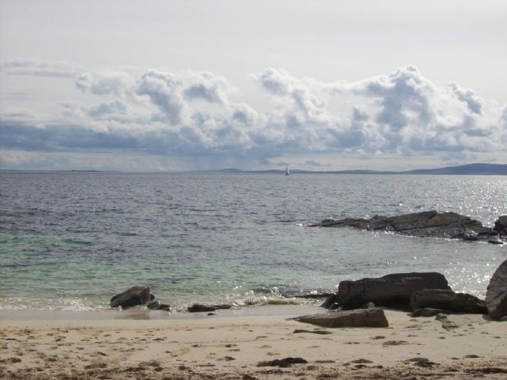 Looking south from Westray