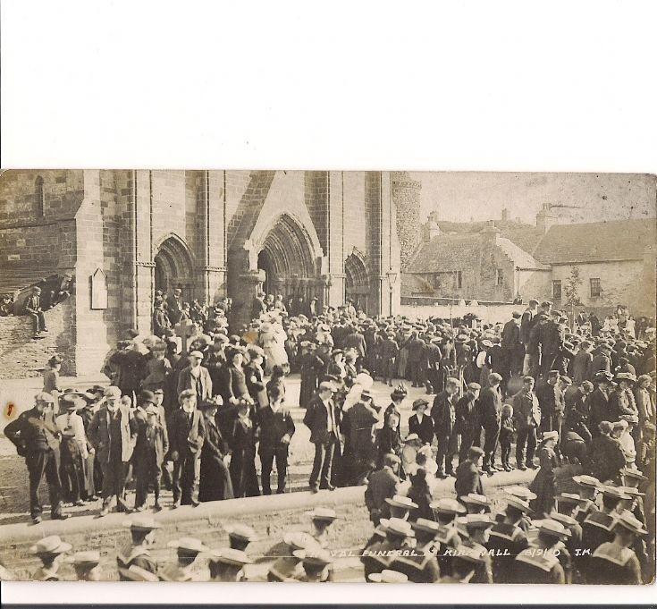 Naval funeral, Kirkwall