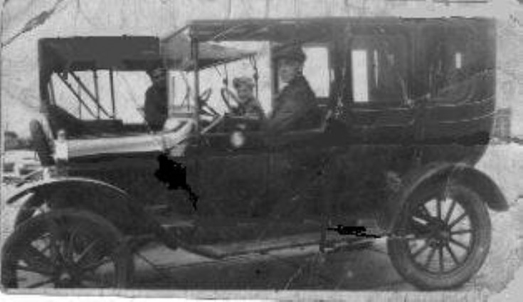 Early Kirkwall taxicabs