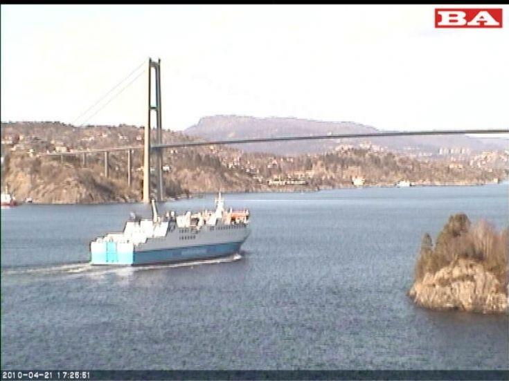 Hamnavoe heading to Bergen
