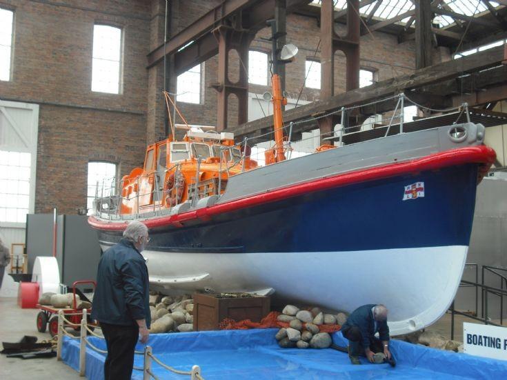 TGB in the Scottish Maritime Museum