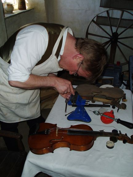 Instrument Repairer at work