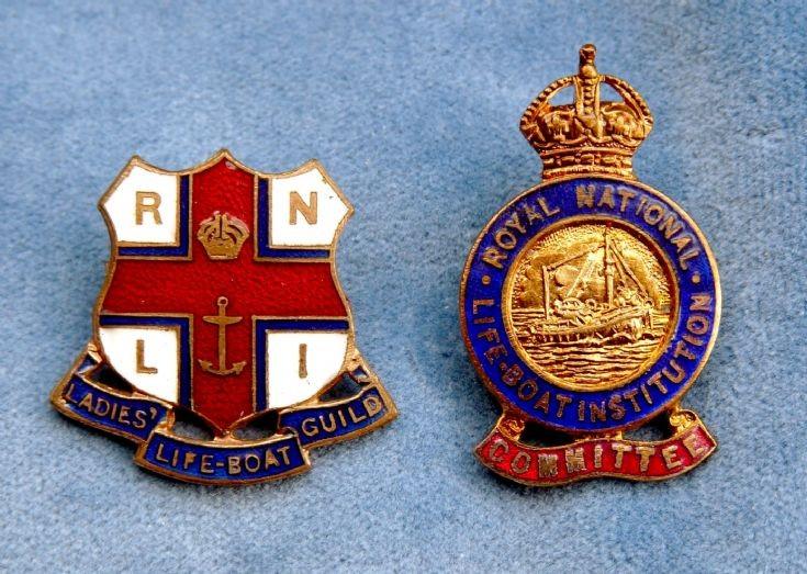 LIfe-boat badges