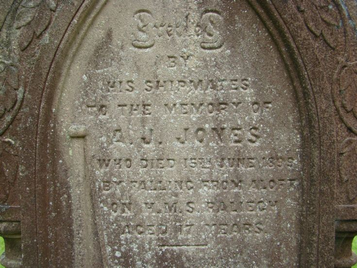Cathedral headstone