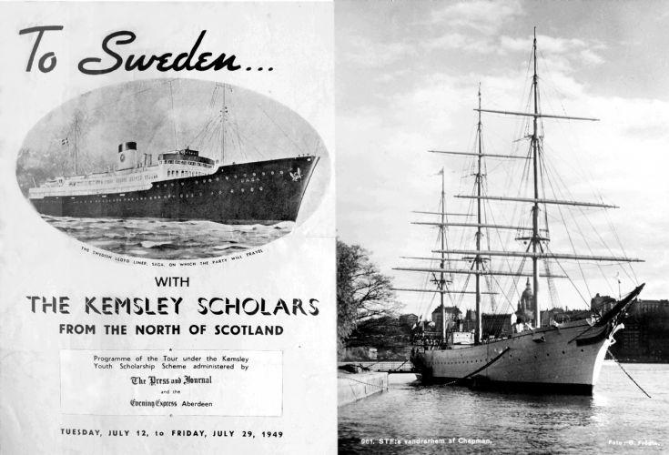School trip to Sweden 1949