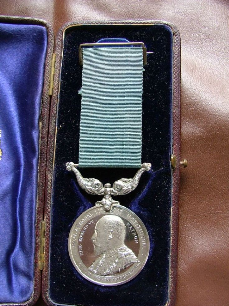 RNLI medal awarded to Edward Jamieson