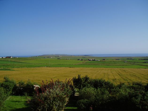 Aug 2004, looking towards Copinsay from Deerness
