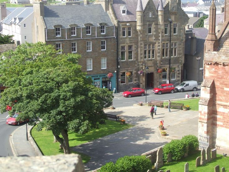 Broad Street from Bishops Palace
