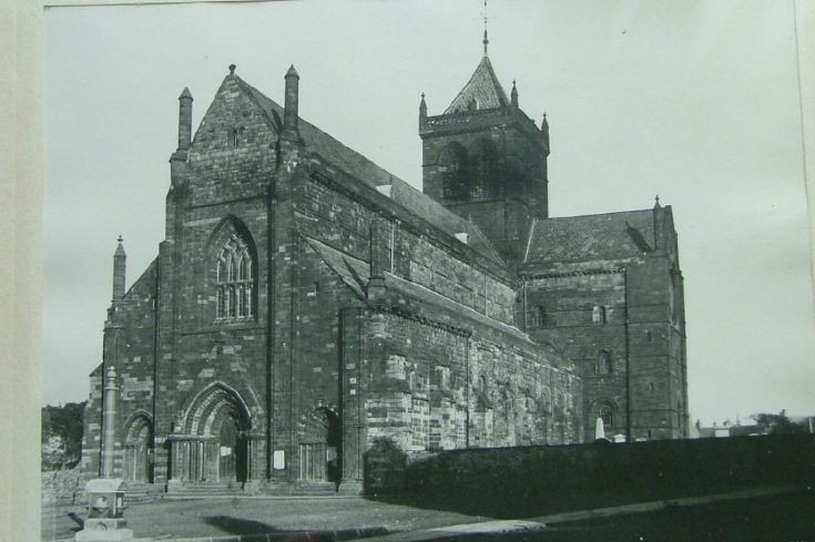 Cathedral before new spire.