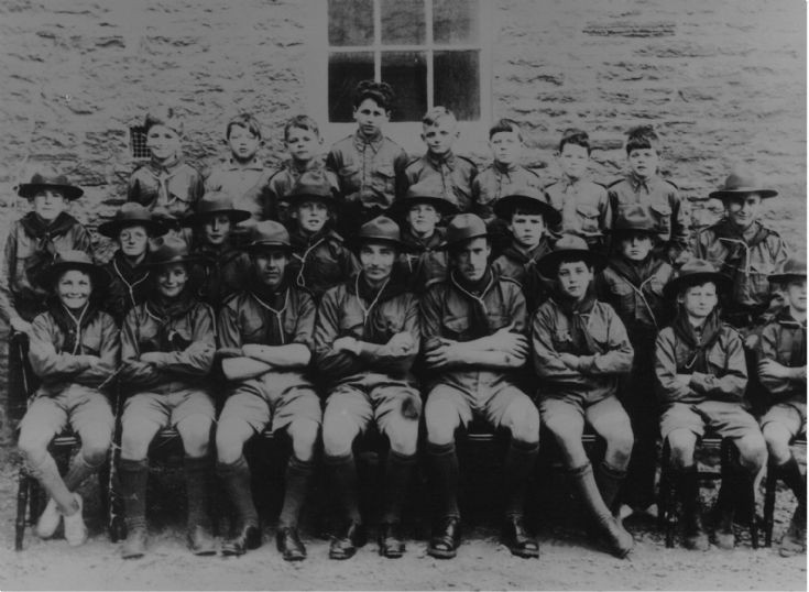 Stronsay Scouts, late 1930s