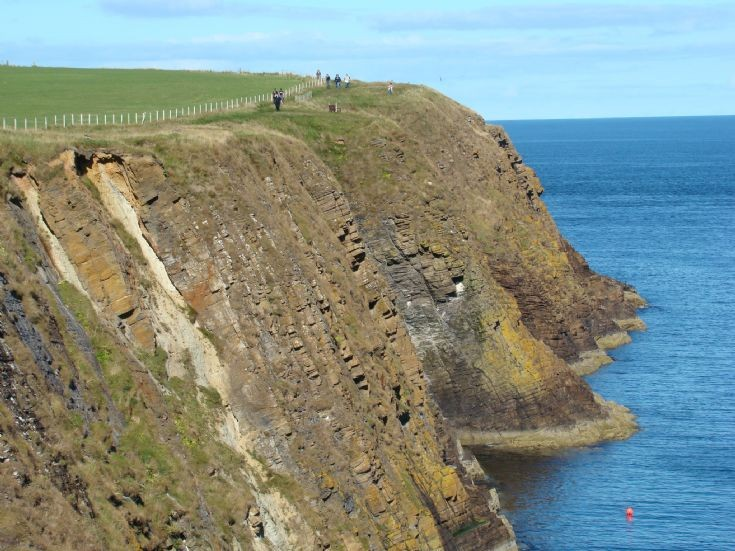 Cliffs at Ham Geo, South Ronaldsay