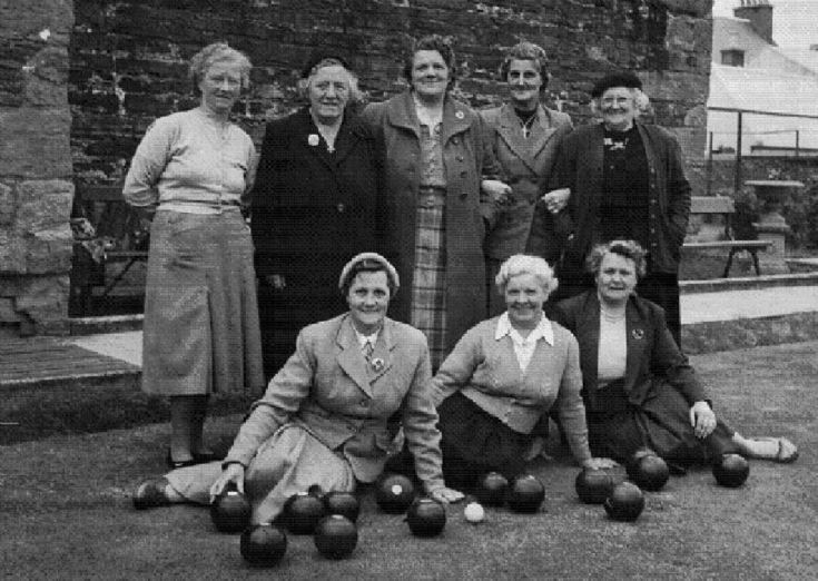 Kirkwall Lady Bowlers, 1957