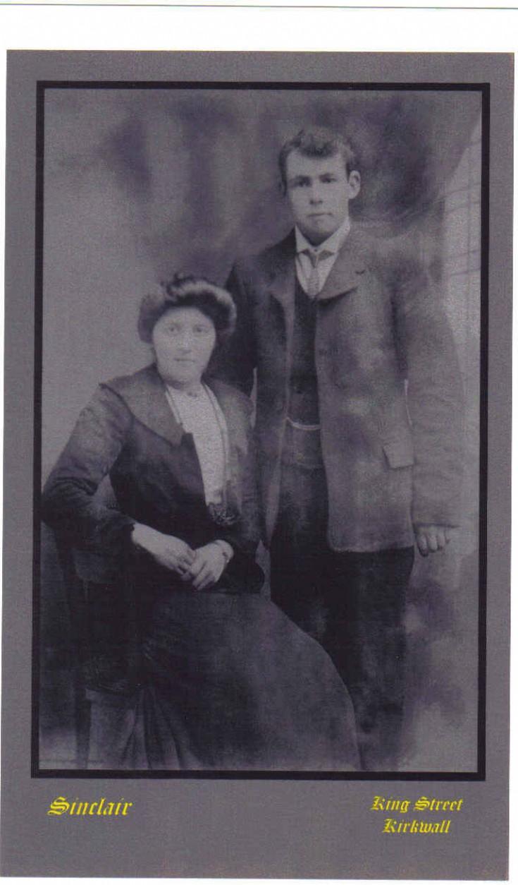 Walter and Betsy Walls, South Ronaldsay