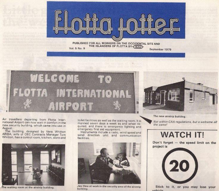 The Flotta Jotter