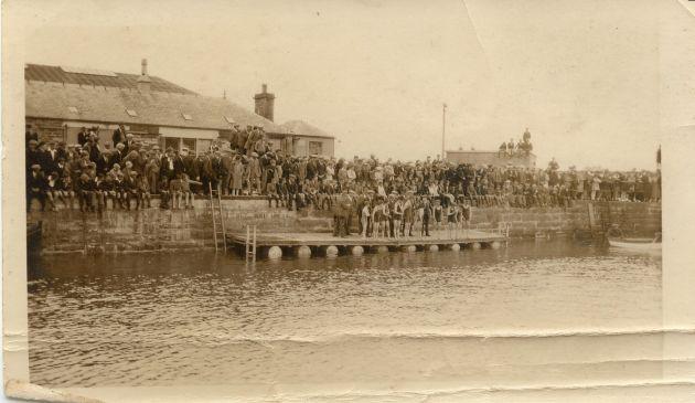 Swimming Gala in Kirkwall Basin