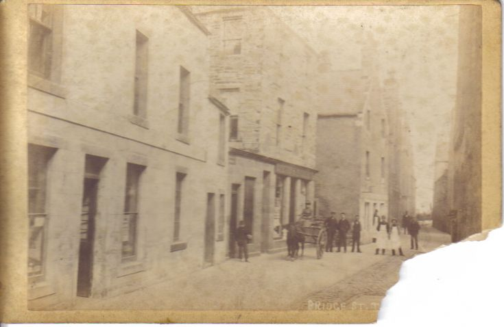 Bridge Street in the olden days