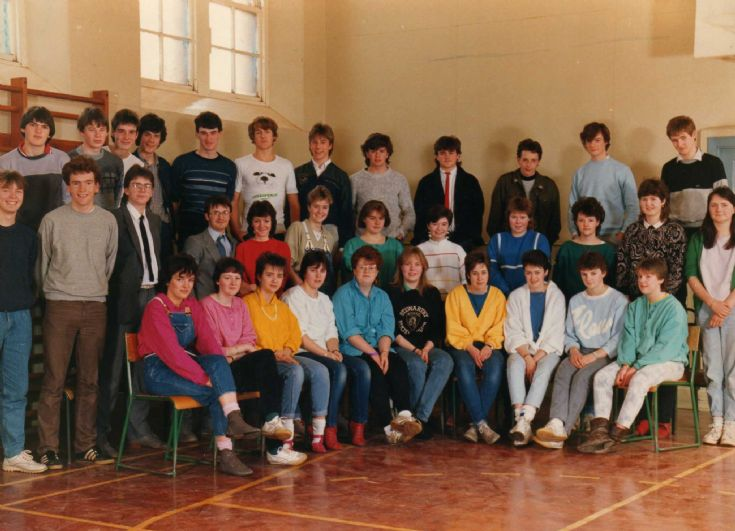 Stromness 6th Year 1986