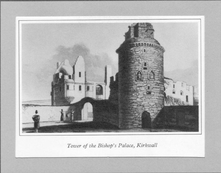 Daniell print of Bishop's Palace