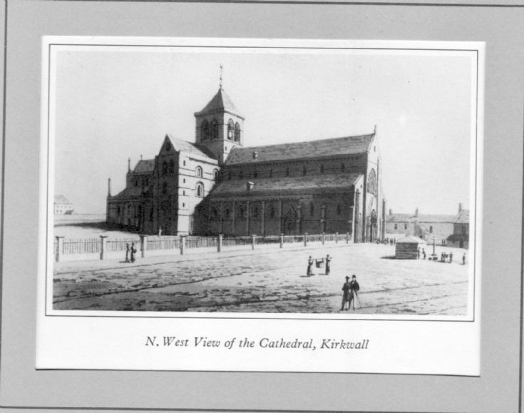 Daniell print of Cathedral