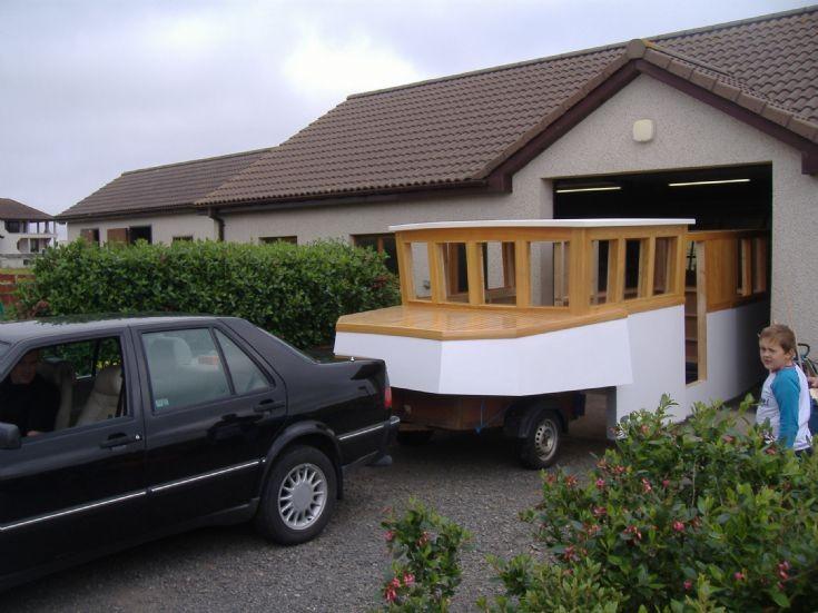 Wheelhouse on the move