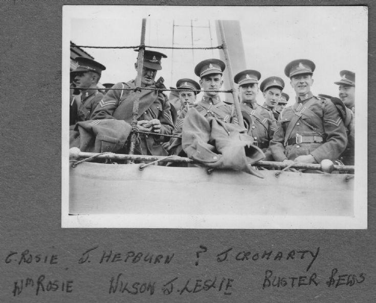 Orkney servicemen