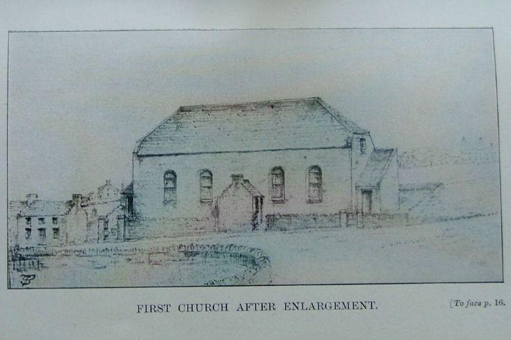 United Presbyterian Kirk after enlargement