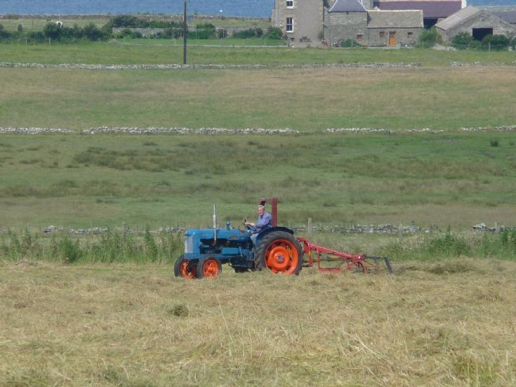 Haymaking at Quoyberstane