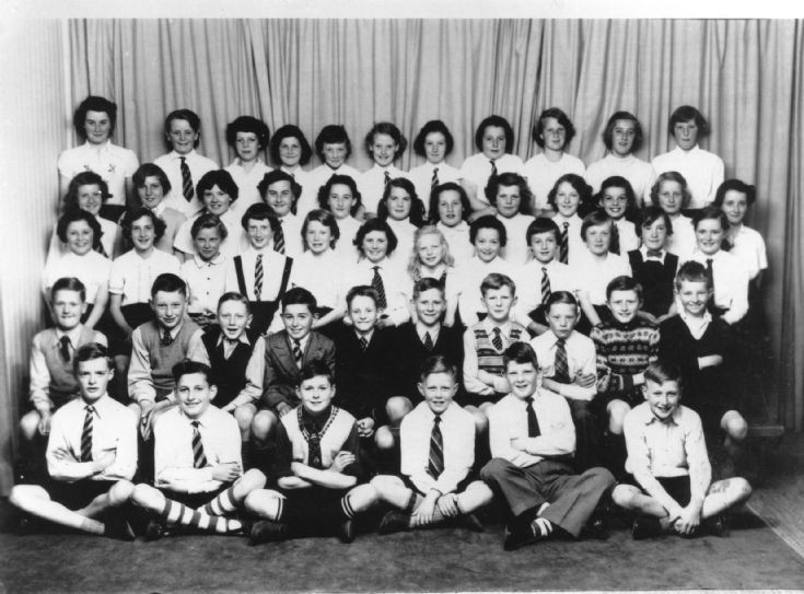 KGS choir, fifties.