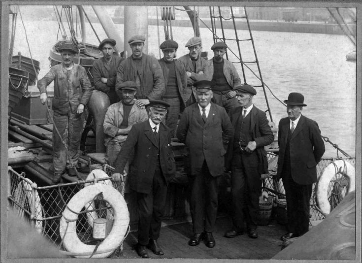 The crew of the Orcadia