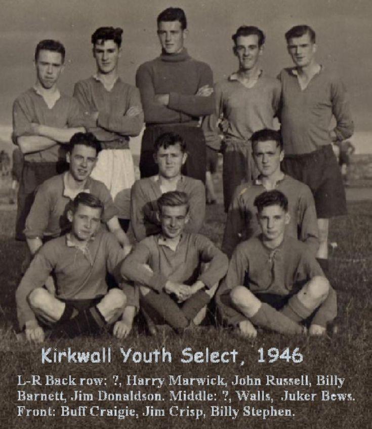 Kirkwall Youth Select, 1946