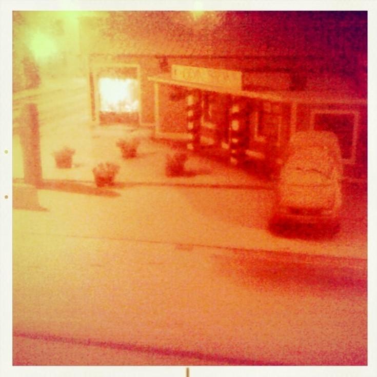 Odinstone in the snow