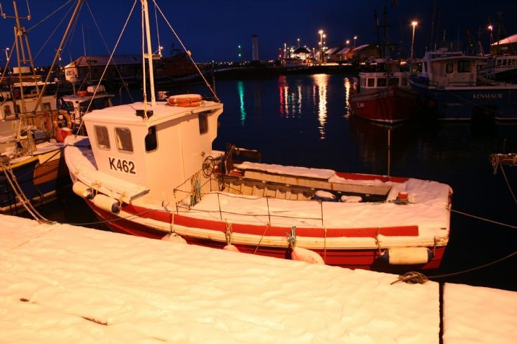 K462, Kirkwall harbour