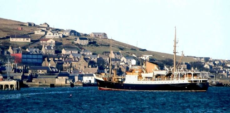 Pole Star's last call at Stromness
