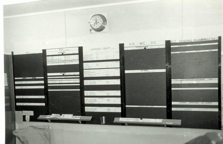 Stateboard inside PHQ Orkney