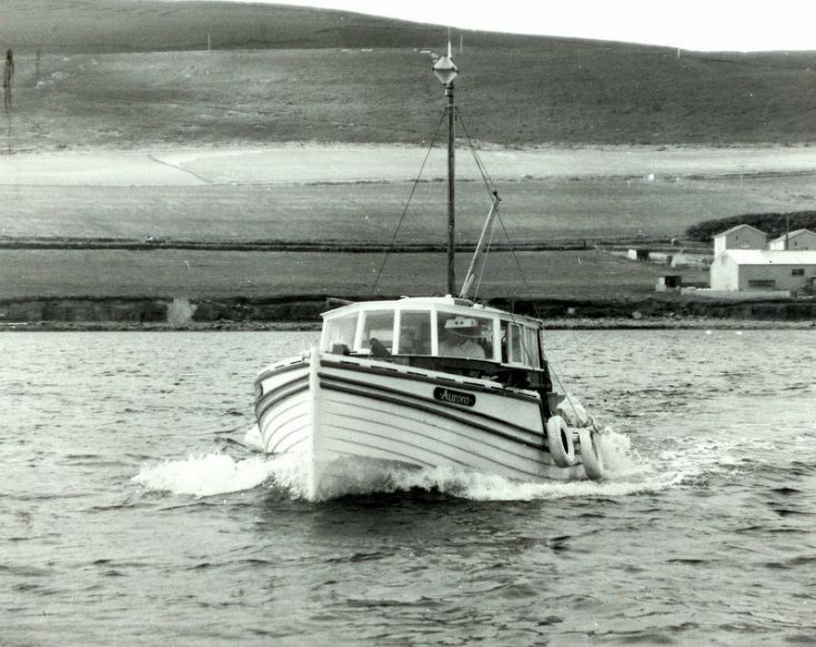 Aurora returns from Rousay