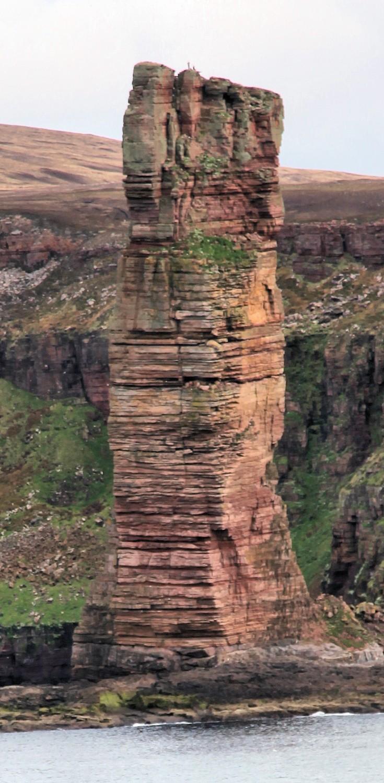 Old Man of Hoy climbers atop
