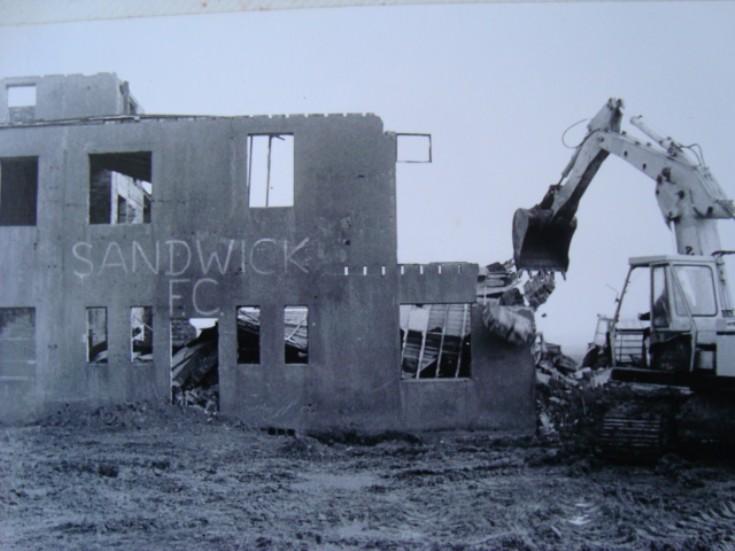 Skea Brae control tower coming down