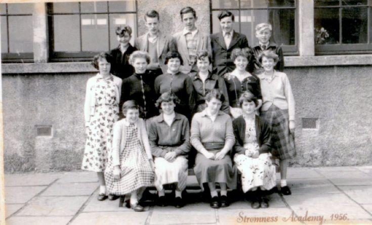 Stromness Academy 1956