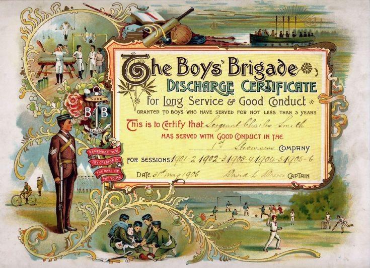 BB discharge certificate