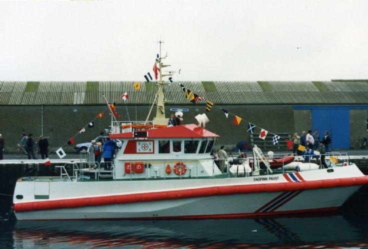 Norwegian lifeboat Dagfinn Paust