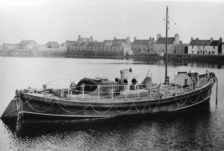 Stronsay lifeboat Edward Z. Dresden
