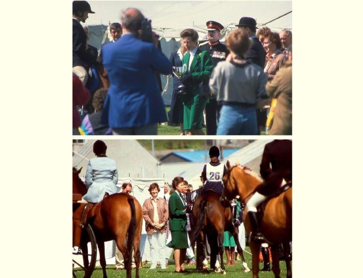 Princess Royal visit in 1990