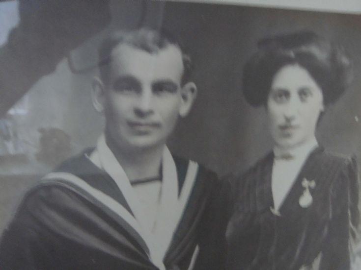 Jack and Davina Crisp, Kirkwall c 1911