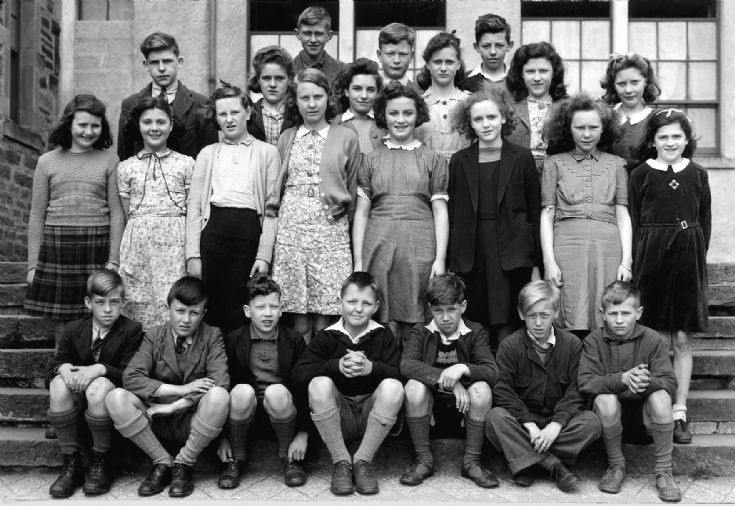 Stromness Academy 1st year Secondary, 1944