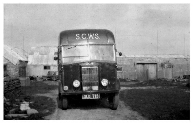 S.C.W.S van.
