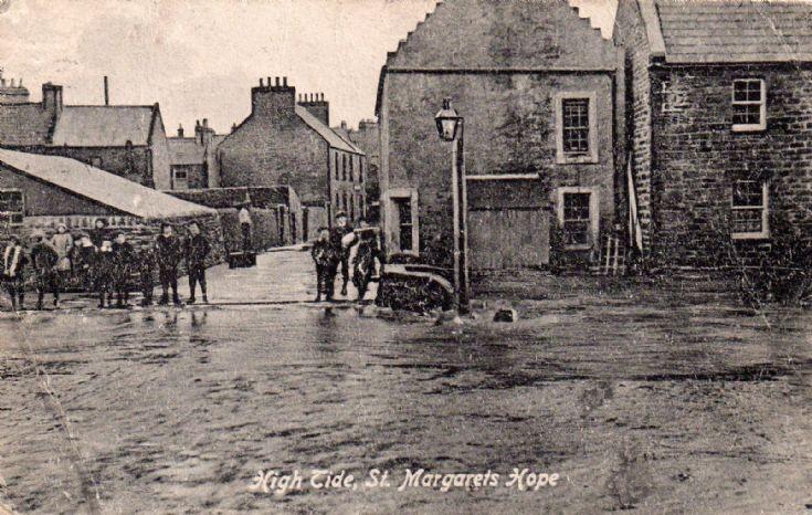 Hih Tide, G Sinclair postcard