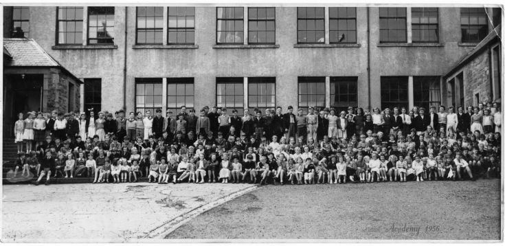 Stromness Academy (Primary Section) 1956