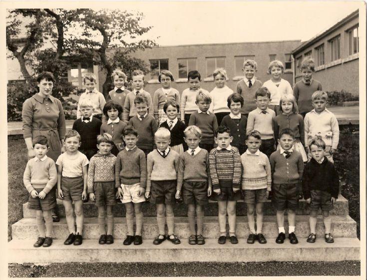 Kirkwall Infant School 1965-1966