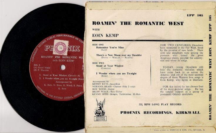 Reverse of Roamin' the Romantic West